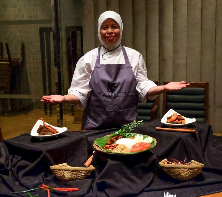 JW Marriott Medan Gelar Malaysia Makan Fest Datangkan Chef Sharifah