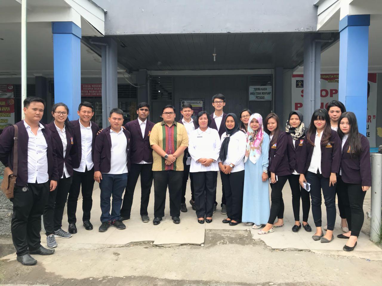 Mahasiswa FH Unpri Kunjungi Lapas Wanita Kelas II A Medan