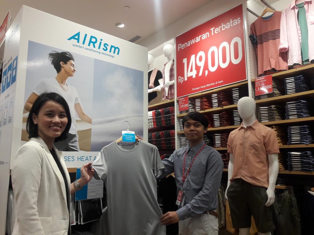 UNIQLO Tawarkan Promosi Eksklusif Selama Seminggu Buka Toko di Medan