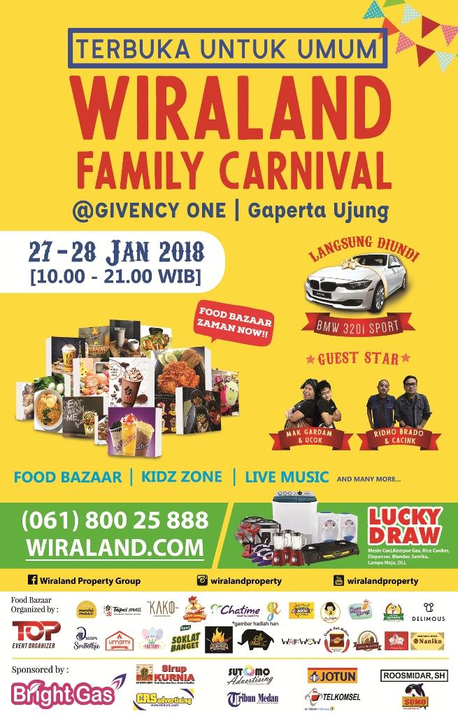 Kunjungi Wiraland Family Carnival dan Bawa Pulang Mobil BMW Sport!