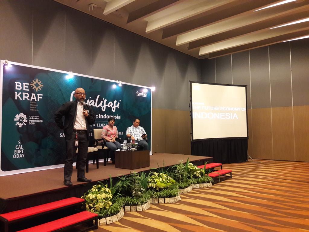 Bekraf Sosialisasi FoodStartup Indonesia di Medan