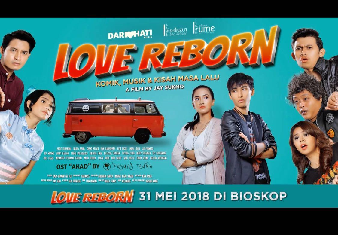 Film Love Reborn: Komik, Musik & Kisah Masa Lalu