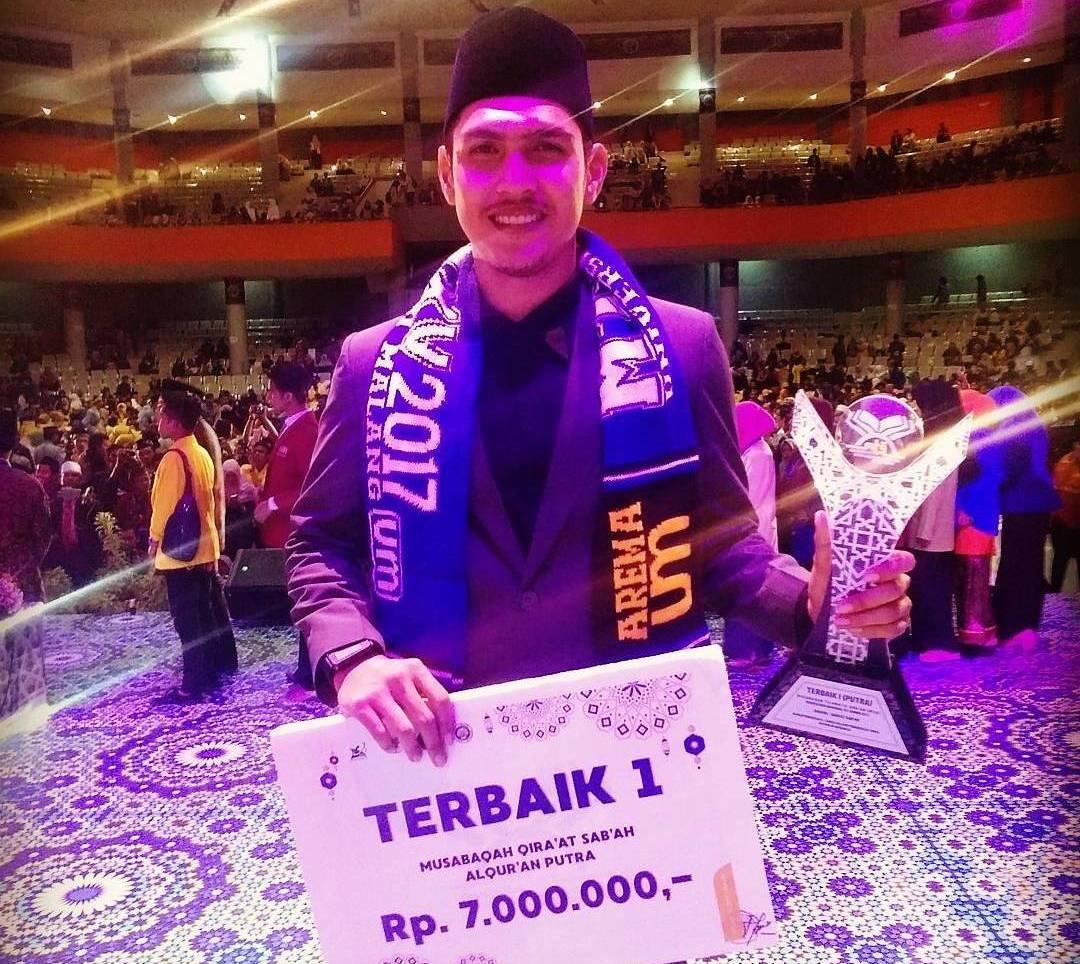 Rizky Dermawan Rokan Raih Prestasi Sebagai Qori Nasional