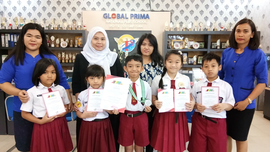 Siswa/i SDS Global Prima Raih Prestasi di Ajang Science And Math Olimpiads By JISMO 2018