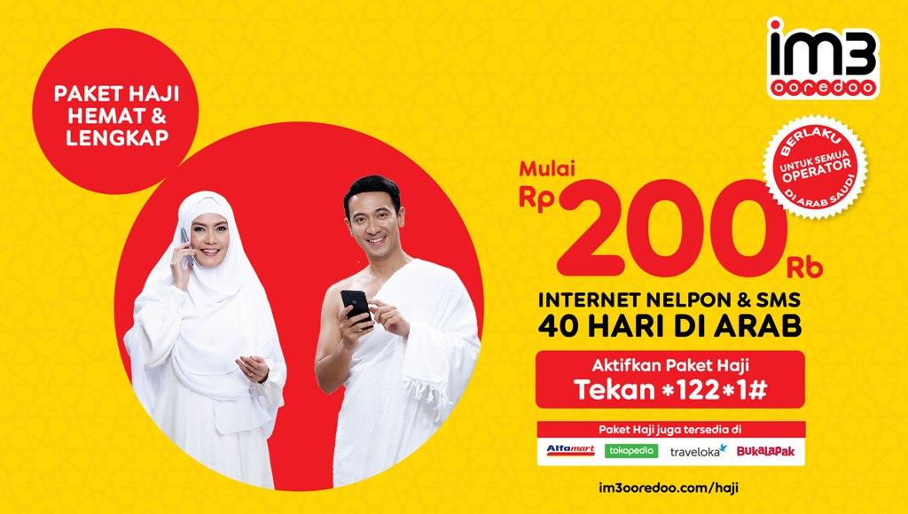 IM3 Ooredoo Luncurkan Paket Komunikasi Ibadah Haji Hemat