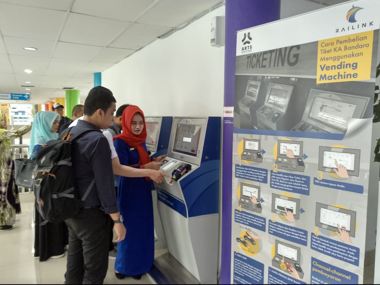1 Agustus, Transaksi Non Tunai di KA Bandara Kualanamu Diaktifkan