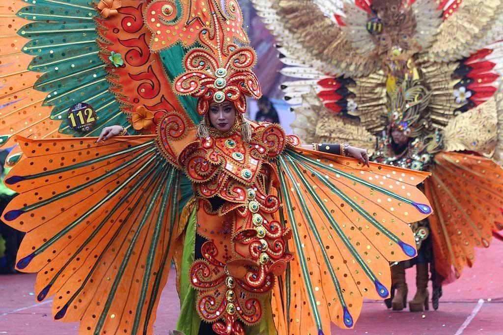 Main ke Malang, Jangan Lewatkan Flower Carnival yang Seru