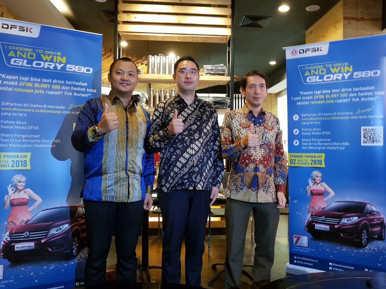 DFSK Glory 580 Ramaikan Pasar Otomotif Kota Medan
