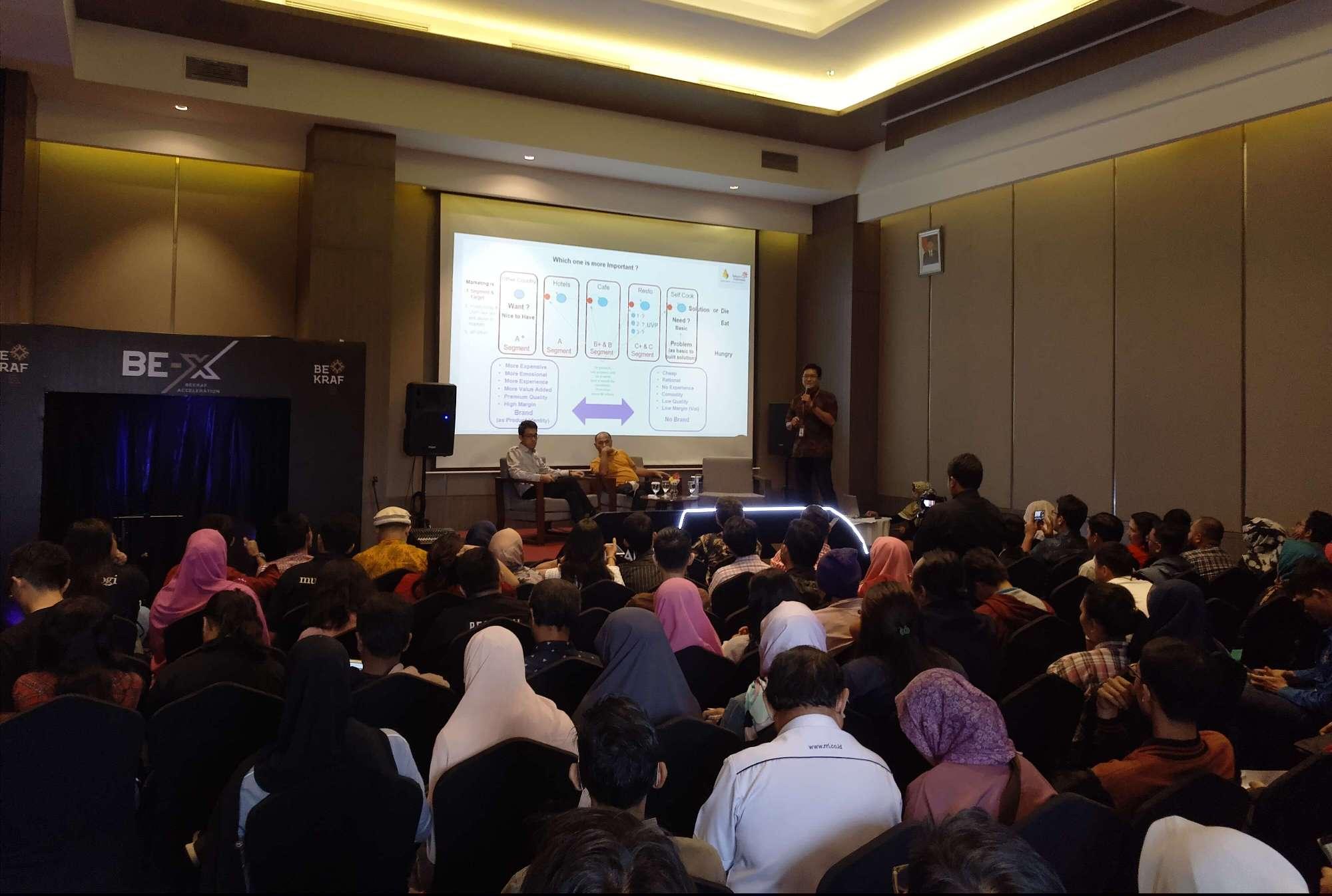 Bekraf Dorong Pertumbuhan Ekosistem Start-Up Indonesia Melalui BE-X