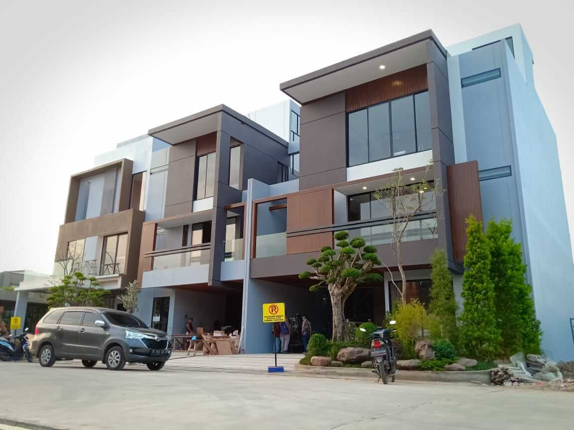 Tipe Terbaru Givency One Siap Jadi Rumah Contoh Termewah dan Terbesar Se Kota Medan
