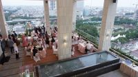 The Reiz Condo Medan Tawarkan Keindahan Kota dari Sterling Hanging Garden at 15th Floor