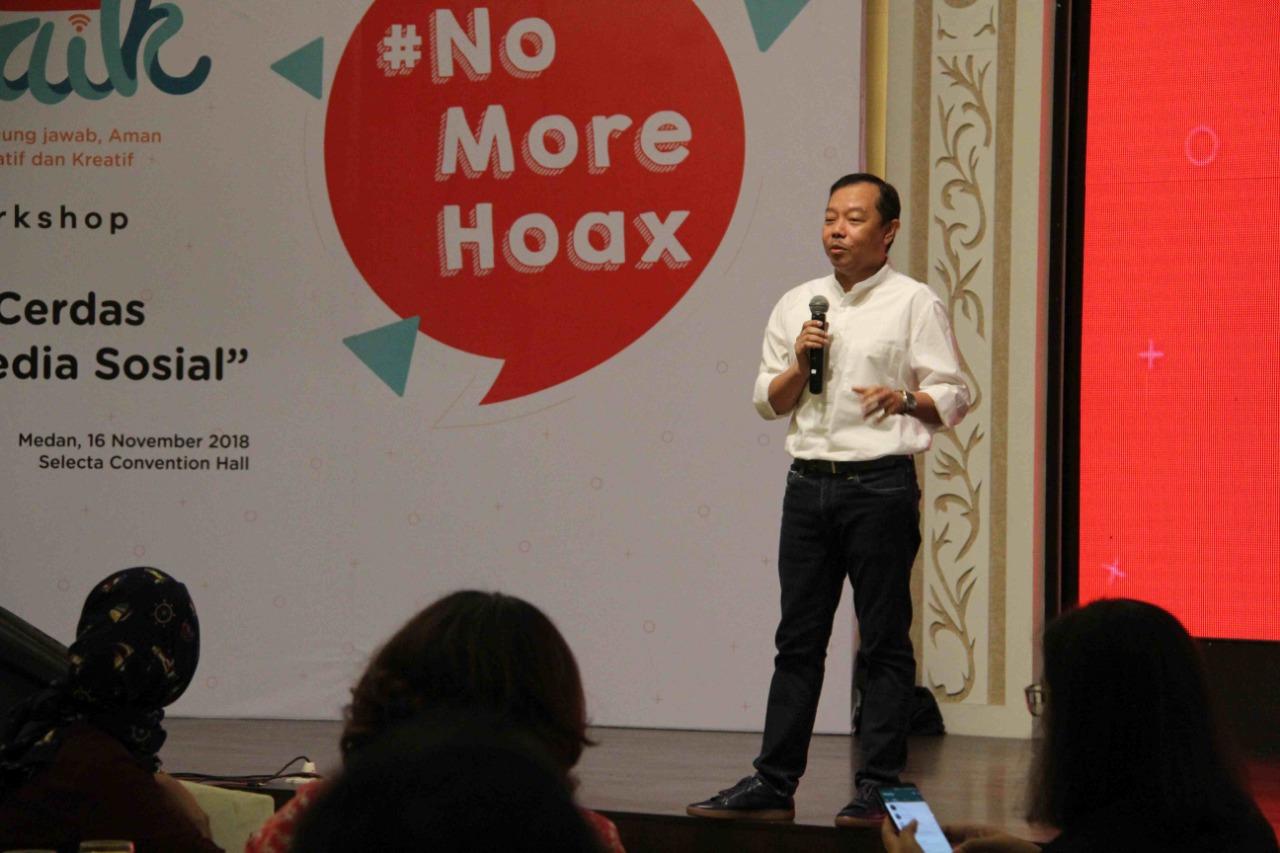 #InternetBaik 2018 Kampanyekan Pendidikan Anti Hoax