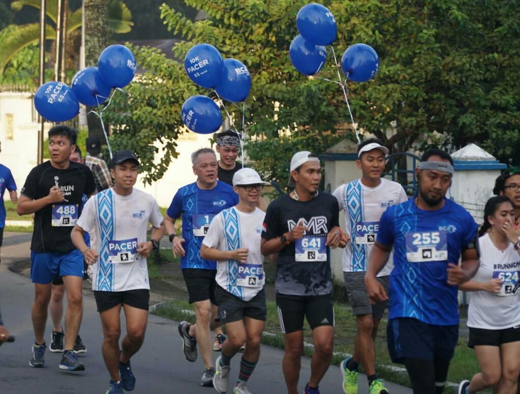 1.800 Pelari Meriahkan BCA Medan Run 2018