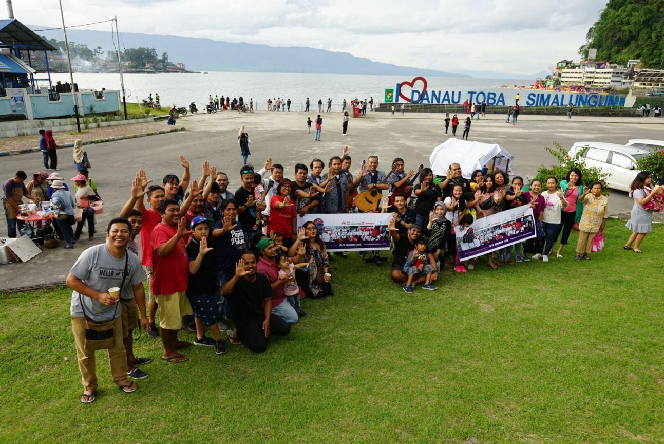 Togu Simorangkir, Jalan Kaki 305,65 K Demi Pendidikan Anak-Anak Danau Toba