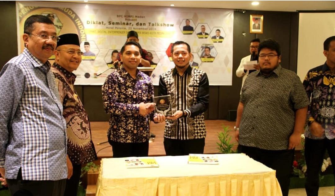 UNPRI - HIPMI Kota Medan Teken MoU
