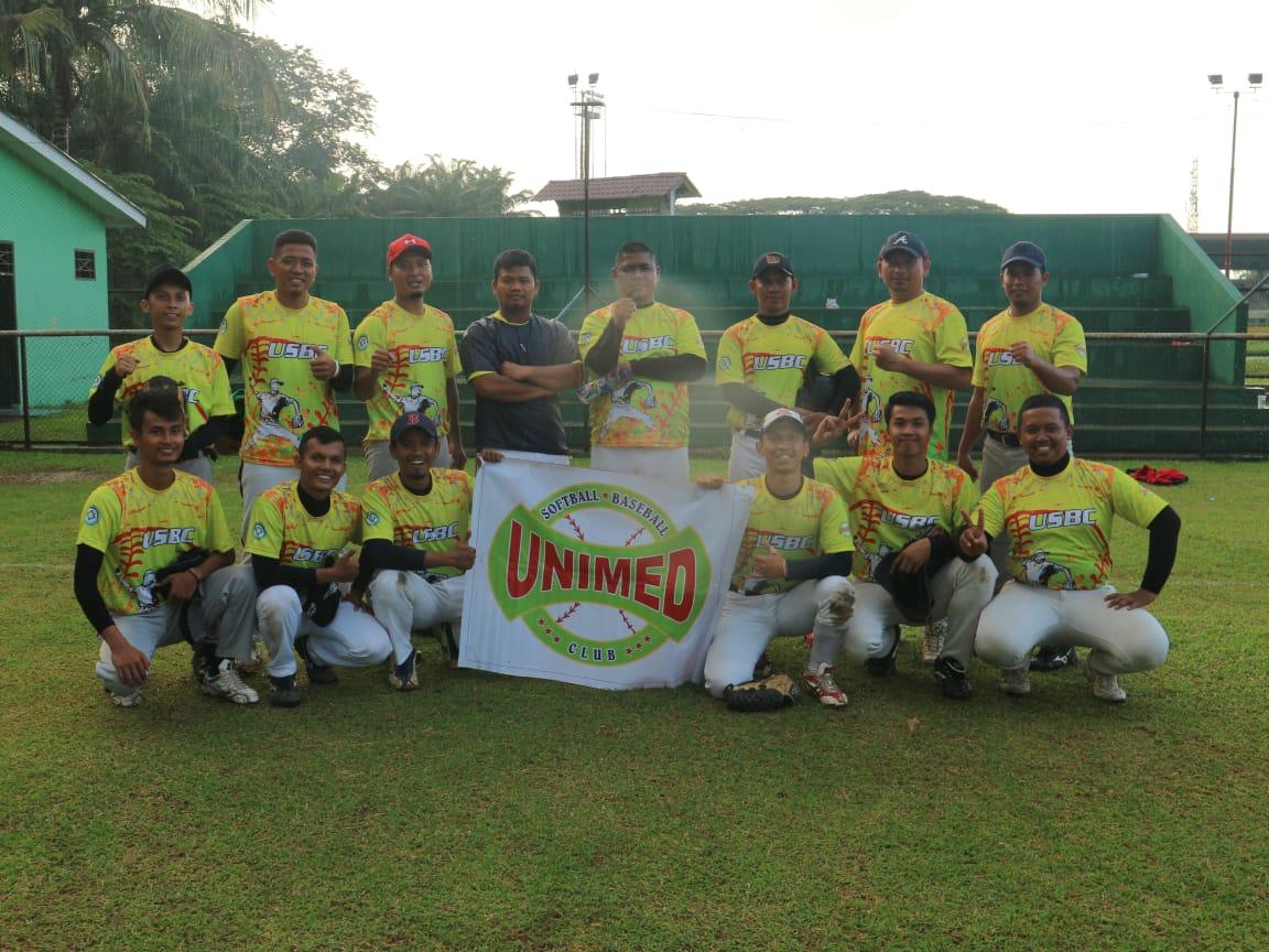 Unimed Softball Baseball Club Raih 2 Medali Emas dan 1 Medali Perunggu di Pekan Olahraga Kota Medan 2018