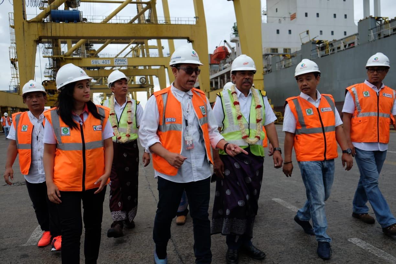 Hari Pertama 2019, Pelindo 1 Sambut Kapal Perdana Bersandar di BICT