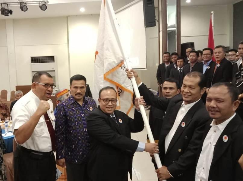 Pengurus Asprindo Sumut Priode 2018-2023 Dilantik