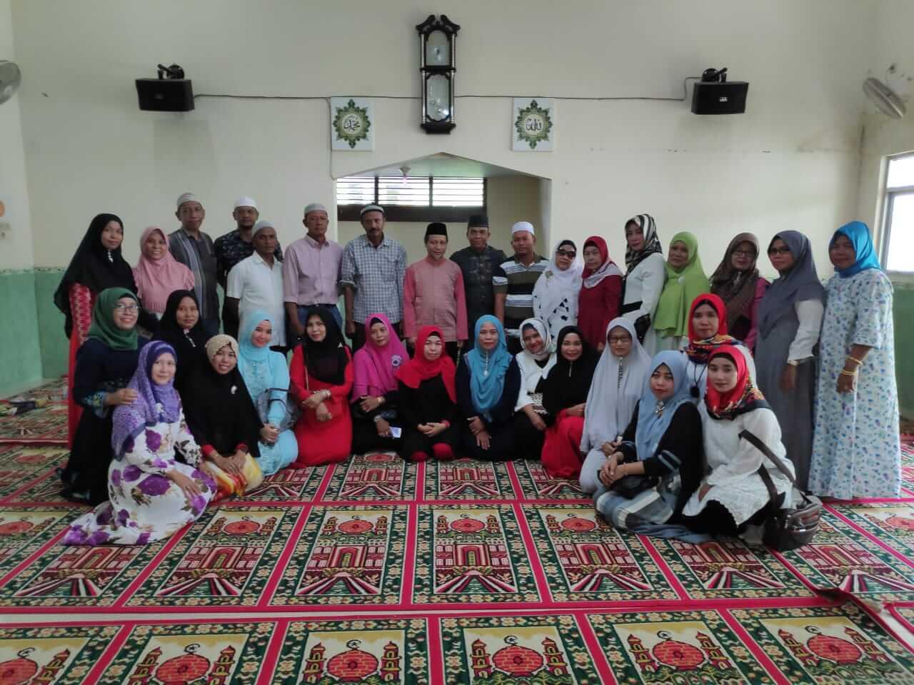 Lintas Alumni SMPN 14/16 Medan Gelar Pengajian Bersama Ustad Rajuddin Sagala