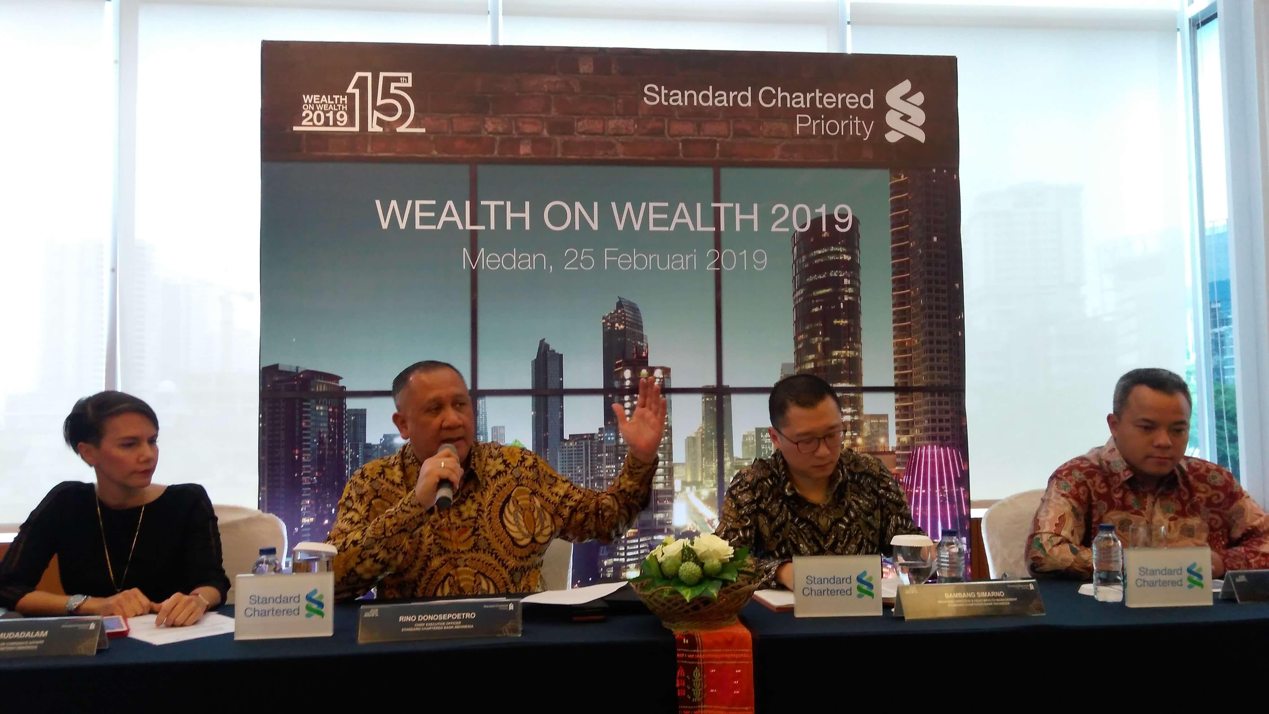 Standard Chartered Bank Optimis Pertumbuhan Ekonomi Indonesia Tetap Terjaga