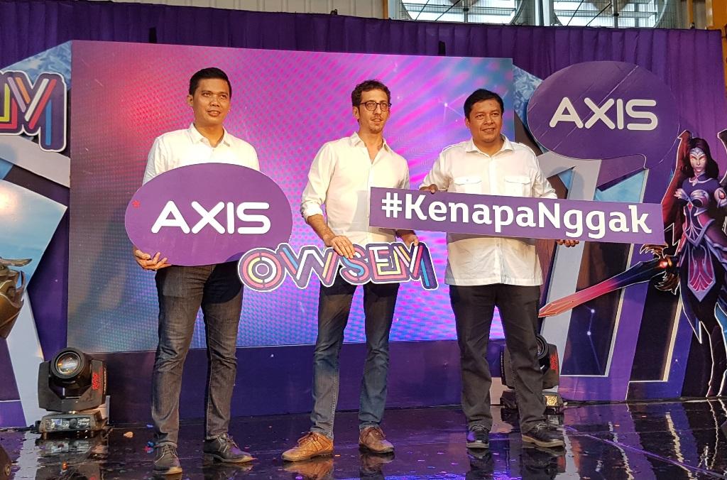 AXIS Luncurkan Paket Unlimited Gaming Pertama di Indonesia