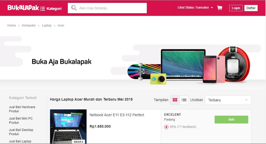 Daftar Harga Laptop Acer Terbaru, Spesifikasi Kantoran Hingga Gaming