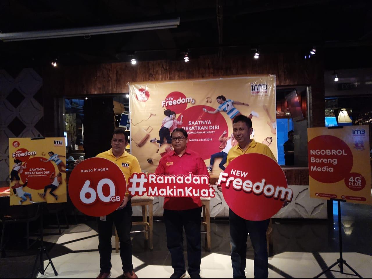 Eratkan Silaturahmi #RamadanMakinKuat dengan Paket New Freedom IM3 Ooredoo