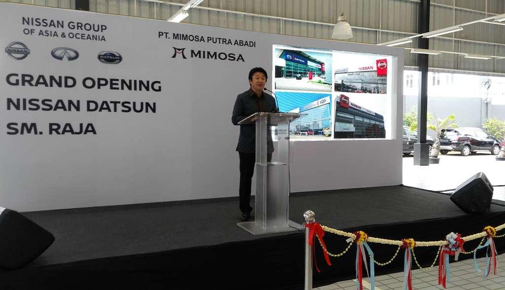 Dealer Nissan Datsun SM Raja Medan