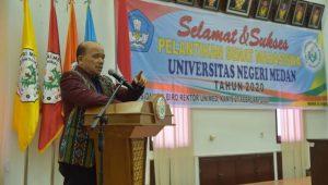 Pengurus Senat Mahasiswa UNIMED Dilantik