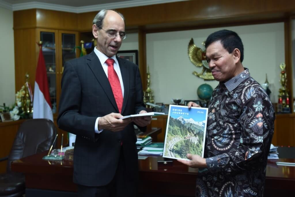 Rektor USU Terima Kunjungan Dubes Swiss