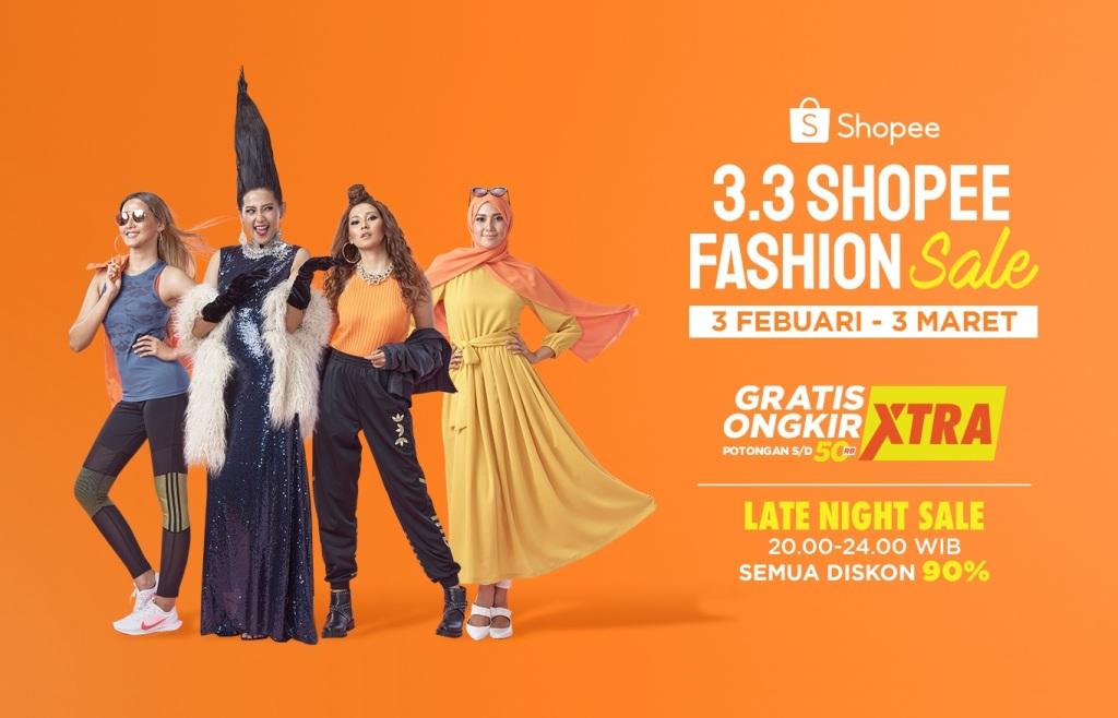 Shopee Hadirkan 3.3 Shopee Fashion Sale