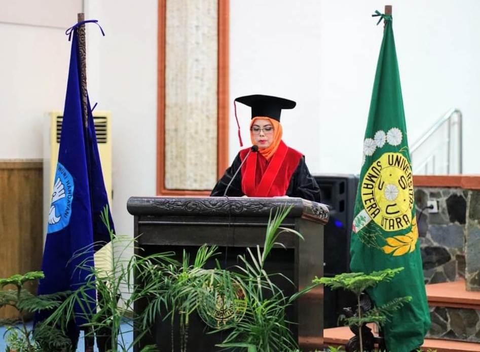 Prof Dr Rosnidar Sembiring Guru Besar Ilmu Hukum