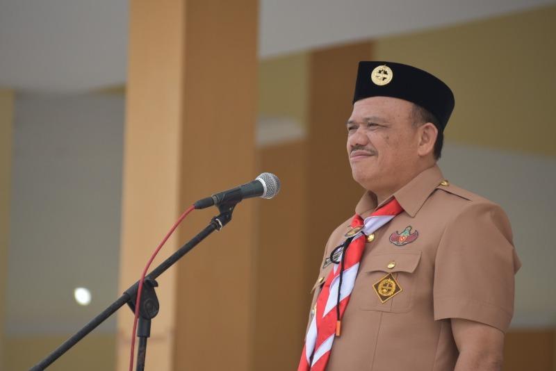 Wakil Rektor III Universitas Negeri Medan (UNIMED) Prof. Dr. Sahat Siagian, M.Pd