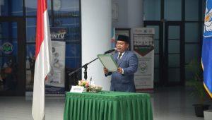 Rektor UNIMED Syamsul Gultom Lantik Dua Dekan Baru