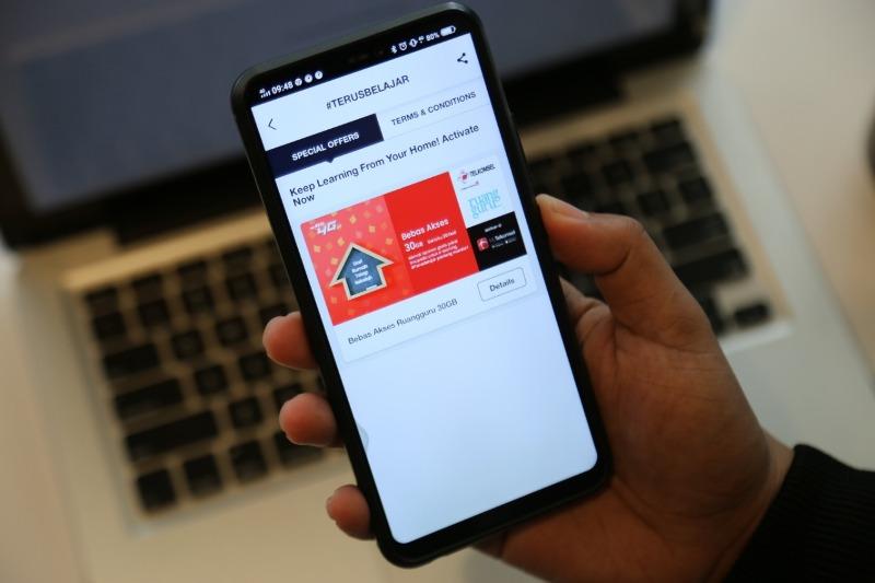 Telkomsel Beri Kuota 30GB Belajar Online di Ruangguru