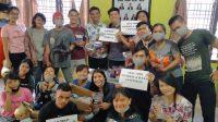 UKMKP UNIMED Gelar Aksi Peduli 1000 Masker dan 100-an Hand Sanitizer