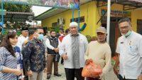 Pelindo 1 Bagikan Sembako di Belawan, Antisipasi Dampak Corona