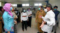 Tinjau RSUD Padangsidimpuan,Edy Rahmayadi Segera Penuhi Kebutuhan Medis Penanganan Covid-19