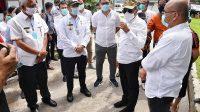 Tinjau RSUD Tarutung, Gubernur Minta Pasien Sakit Berat Segera Dikirim ke Medan