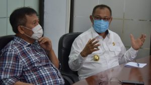 Akhyar Nasution Dan UNIMED Rundingkan Persiapan Hadapi New Normal