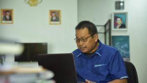 Unimed Rakor via Vicon, Persiapan UTBK 2020 dengan Kerjasama 10 Mitra PTSSekolah