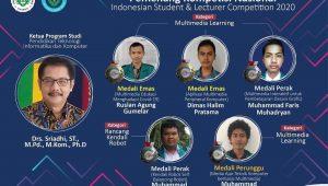5 Mahasiswa Prodi PTIK FT Unimed Ukir Prestasi Nasional