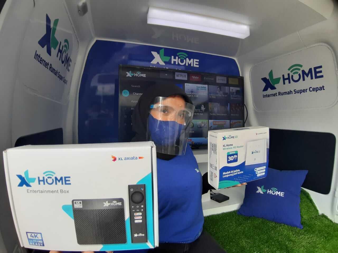 Layanan XL Home Kini Hadir di Kota Medan