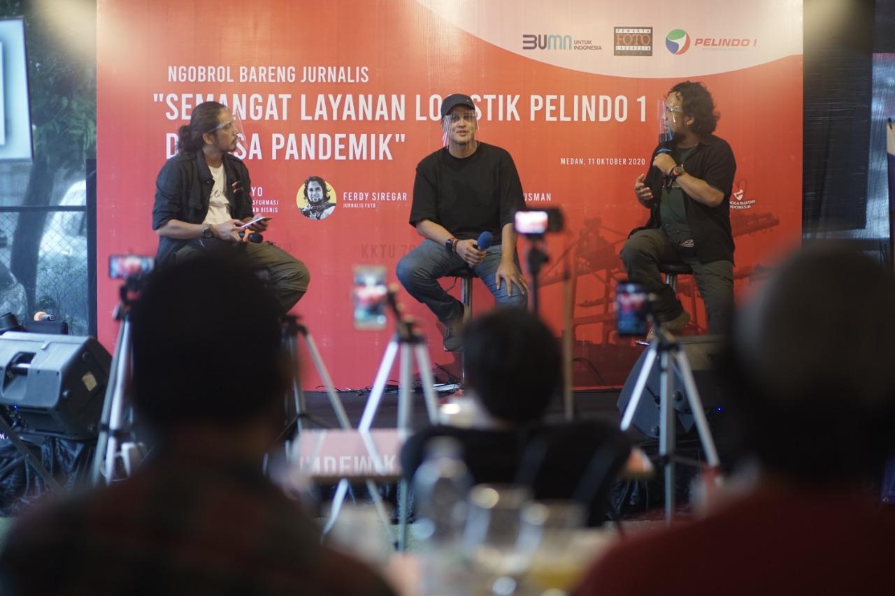Pelindo 1 Dan PFI Medan Selenggarakan Kegiatan Ngobrol Bareng Jurnalis