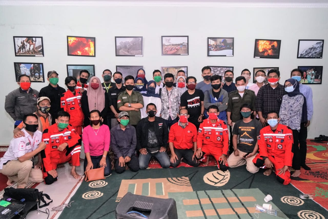 PFI Medan Gandeng PMI dan IVT Gelar Diskusi Fotografi Kebencanaan  dan Penyelamatan