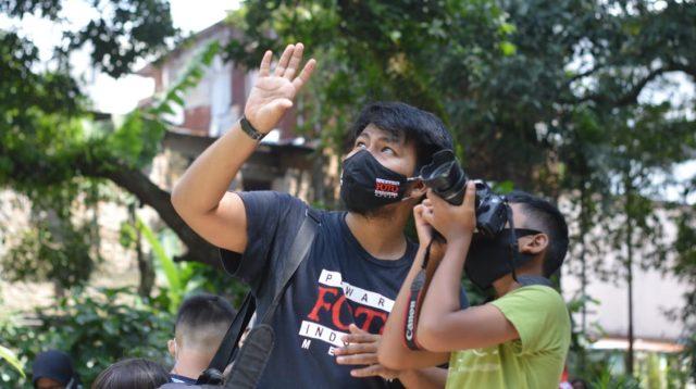 PFI Medan Bagi Ilmu Fotografi kepada Anak-anak Kampung Sejahtera