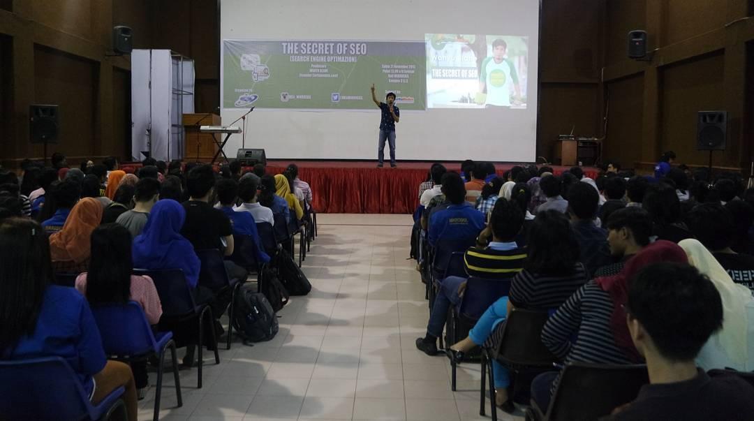 Seminar Belajar SEO di Medan